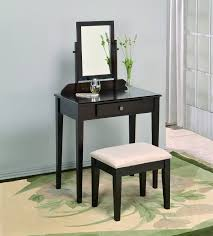 Vanity Table And Chair Set Amazoncom Crown Mark Iris Vanity Table Stool Espresso Finish