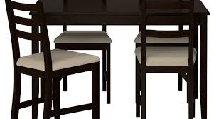exciting dining table with 4 chairs