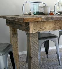 Barnwood Kitchen Table Barn Board Kitchen Table Cliff Kitchen