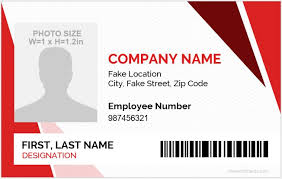 company id card templates 5 best employee id card format in word microsoft word id card