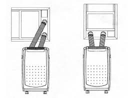window air conditioner installation. portable air conditioner window installation options