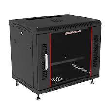 9u 24 inch deep server rack cabinet