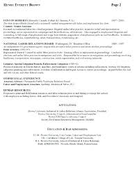 Employment Attorney Sample Resume Stunning Sample Resume Of Government Employee As Well As Sample Resume For