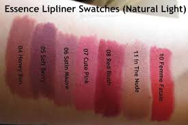 lipliner 05 soft berry essence lipliners 05 soft berry by essence from usa walmart