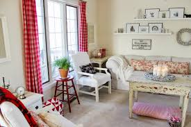 Plaid Curtains For Living Room Happy At Home Living Rooms Winter Decor