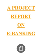 Customer Perception Towards Internet Banking   Online Banking   Banks Scribd