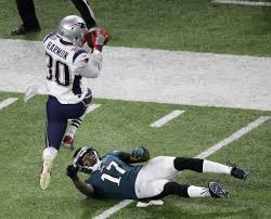 Nick Patriots' Foles Harmon Ridiculous com White Scores Td James Off Picks Carom; - On 2018 Super Duron Pennlive Bowl Eagles'