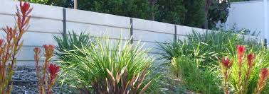 a concrete sleeper retaining wall