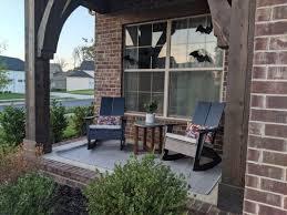 emmet rocker modern outdoor chairs
