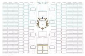 7 Generation Pedigree Chart Maxbal Blank Family Tree Family Tree Template Word