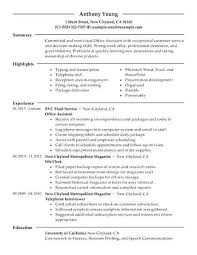 office administrator resume samples office administrator resume sample best office assistant resume