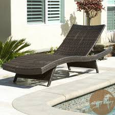 metal chaise lounge chairs. VIEW IN GALLERY Braid Black Rattan Outdoor Chaise Lounge For Traditional Patio Metal Chairs