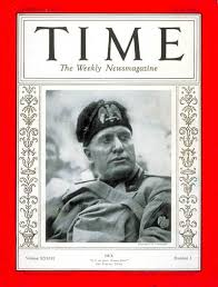 TIME Magazine Cover: Benito Mussolini - July 20, 1936 - Benito Mussolini -  Facism - Italy - World War II - Military
