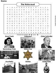 holocaust word search by sciencespot teaching resources tes