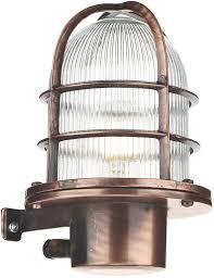 david hunt pier antique copper nautical outdoor wall lantern