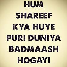 Hum Quote Awesome Hum Shareef Kya Huay Sceneups