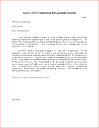 cover letter samples for executive position  cover letter examples