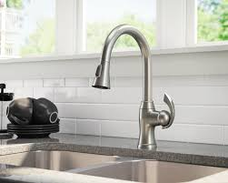 brushed nickel pull down kitchen faucet 4 71 41 reviews 772 bn