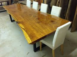 Live Edge Table Slab Table Live Edge Dining Table Etsy