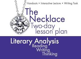 best the necklace images short stories high  use the classic short story the necklace by guy de maupassant to teach your students the elements of literary analysis this two day lesson plan