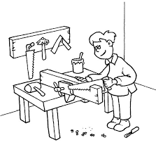 Small Picture Coloring Pages About Jobs Coloring Pages