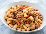 beans and sausage