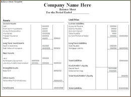 Preparation Of Balance Sheet In Excel Balance Sheet In How To ...