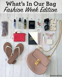 what s in team lc s bag fashion week edition