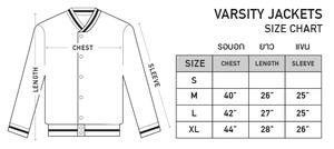 Varsity Jacket Size Chart Madworks Madcity World Tour Varsity Jacket