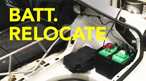 diy battery relocation celica wire tuck pt 4 you
