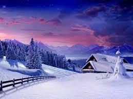 Wallpaper winter, landscape, snow ...