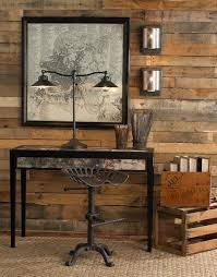 rustic home office ideas. 42 inspiring rustic home office designs awesome with wooden wall ideas s