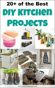 Diy kitchen projects Pallet Wall Decor 20 Of The Best Diy Kitchen Projects diyhomeprojects homeprojects Pinterest 20 Of The Best Diy Kitchen Projects diyhomeprojects homeprojects