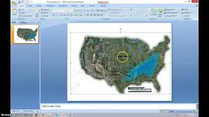 How To Create Maps In Powerpoint Tutorial Youtube