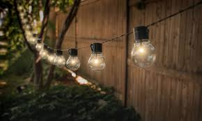 solar patio lights.  Lights Socialite 20u0027 Solar Patio Edison LED String Lights 1 2 Or 4Pack   Groupon With