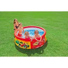 <b>Надувной бассейн Intex</b> Easy Set Cars 183х51см <b>28103</b> купить в ...
