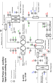 Water Pt Chart 16 Flow Chart Brine Water Heat Pump With Auxiliary Cycle