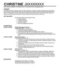 Child Care Resume Template Classy Resume For Child Care Background Success Pinterest Child And