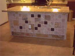 Tiled Kitchen Tiled Kitchen Island