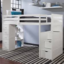 twin loft beds with storage. Unique Twin Mountaineer Twin Loft Bed With Storage Tower And Built In Stairs Drawers  Espresso 24309 By Canwood Bunk U0026 BedsKids Beds At SimplyKidsFurniture In With T