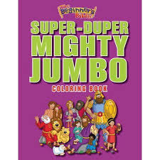 The Beginners Bible Super Duper Mighty Jumbo Coloring Book