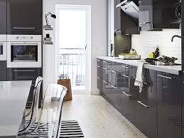 Ikea Kitchen Abstrakt White Custom In Manhattan Modern Kitchen New York By Basic Builders Inc
