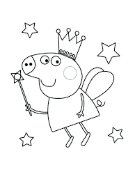 Peppa Pig Color Pages Pig Coloring Pages Printable Pig Coloring