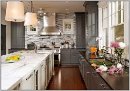 best wall colors for kitchens with white cabinets