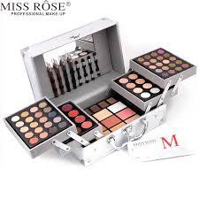 miss rose brand 1 box professional make up artist use cosmetic matte shimmer eye