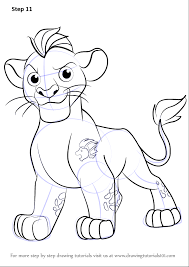 Small Picture Learn How to Draw Kion from The Lion Guard The Lion Guard Step