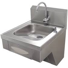 advance tabco 7 ps 41 hands free hand sink with paper towel dispenser