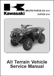 05 13 kawasaki brute force 650 kvf650 4x4 atv service repair 05 13 kawasaki brute force 650 kvf650 4x4 atv service repair manual cd