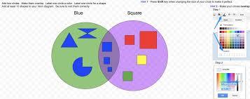 Venn Diagram Of Geometric Shapes Shapes Venn Diagram 2018
