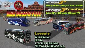 Game bussid memberikan kebebasan penggemar untuk mengganti serta memodifikasi livery bussid ataupun skin bussid. Livery Bus Shd Laju Prima Arena Modifikasi